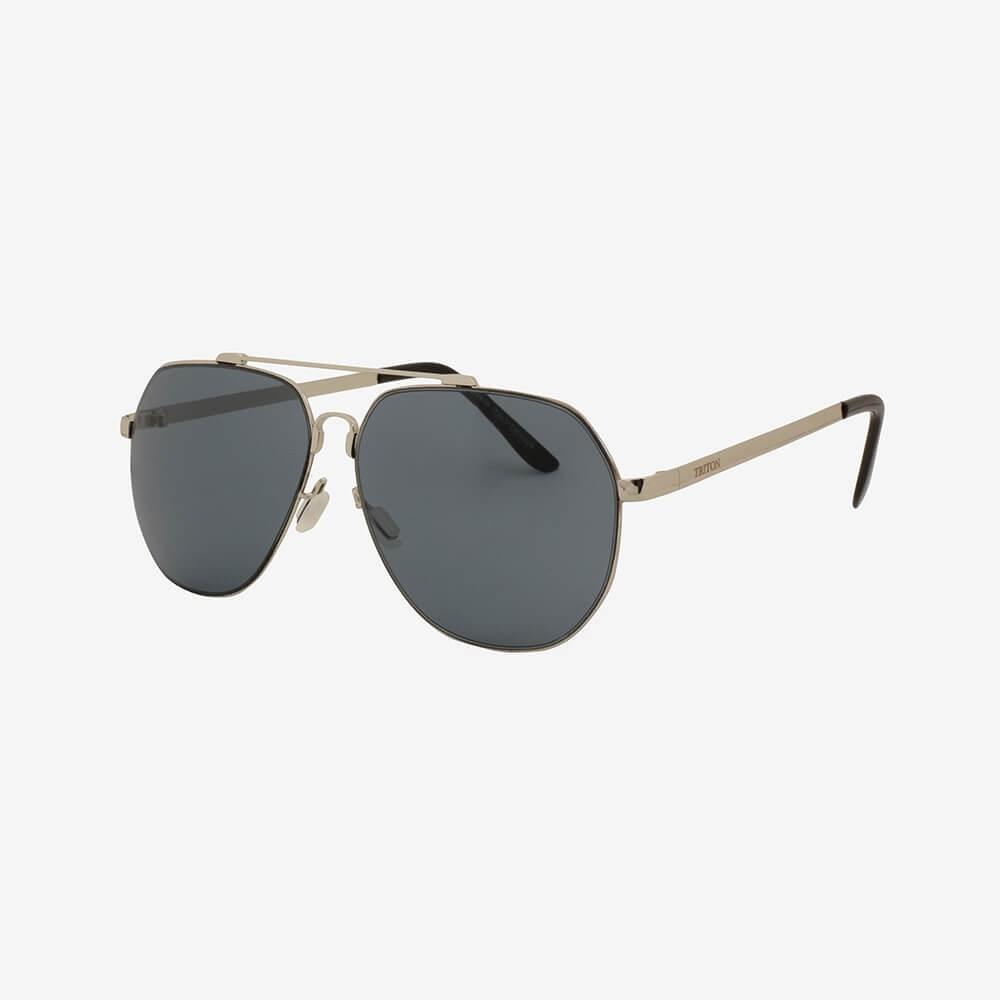 Óculos de Sol Triton Eyewear Aviador Cinza