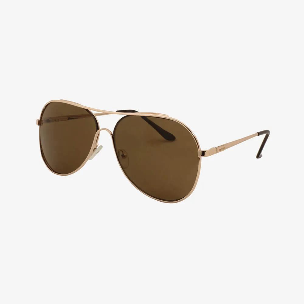 Óculos de Sol Triton Eyewear Aviador Marrom