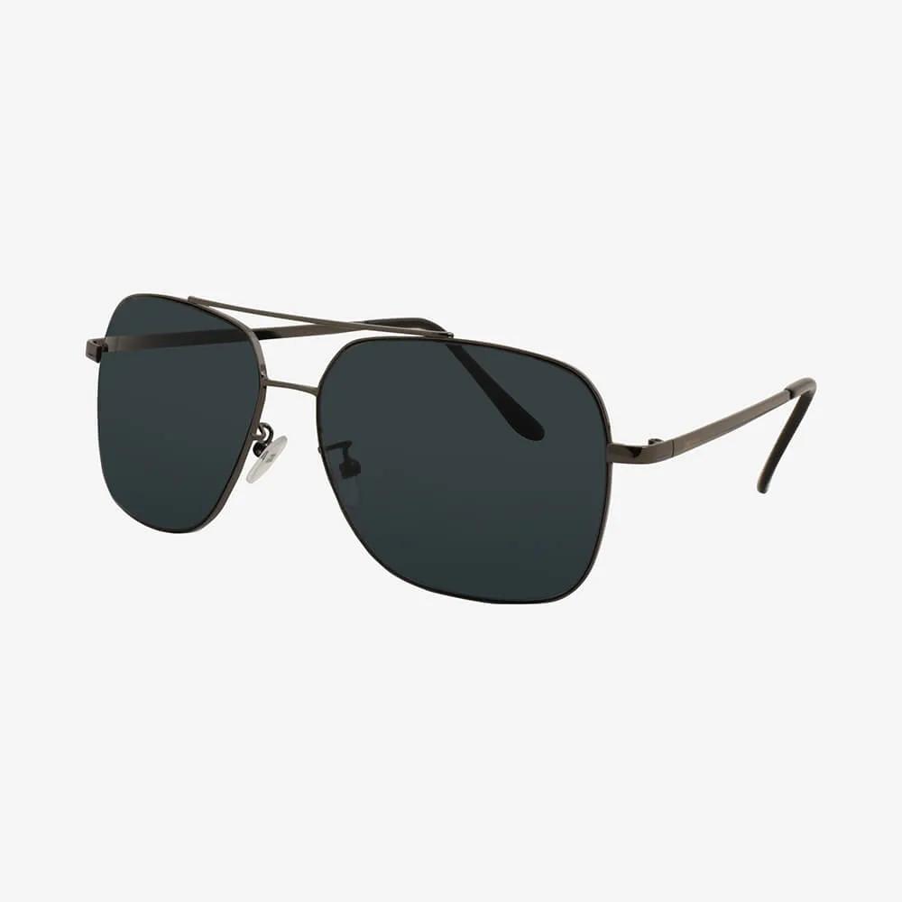 Óculos de Sol Triton Eyewear Aviador Reto Preto