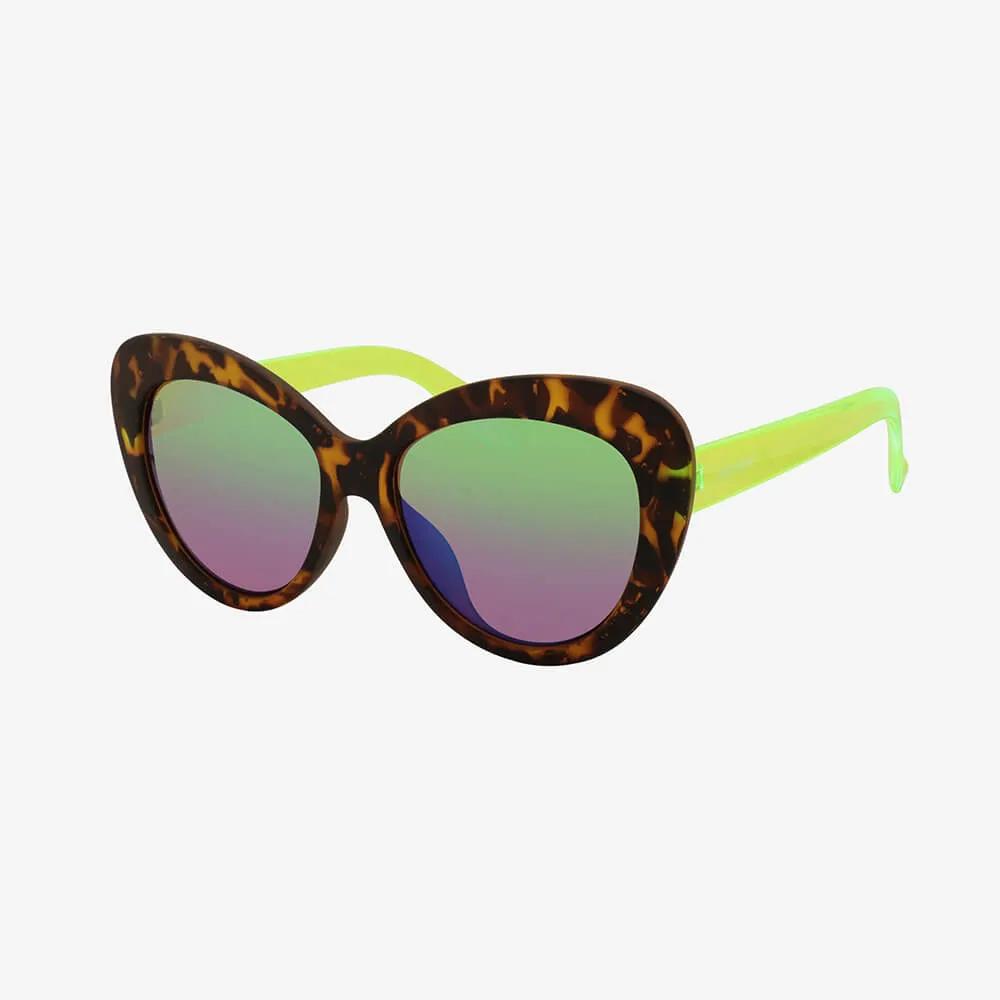 Óculos de Sol Triton Eyewear Chic  Color Cítrico Onça