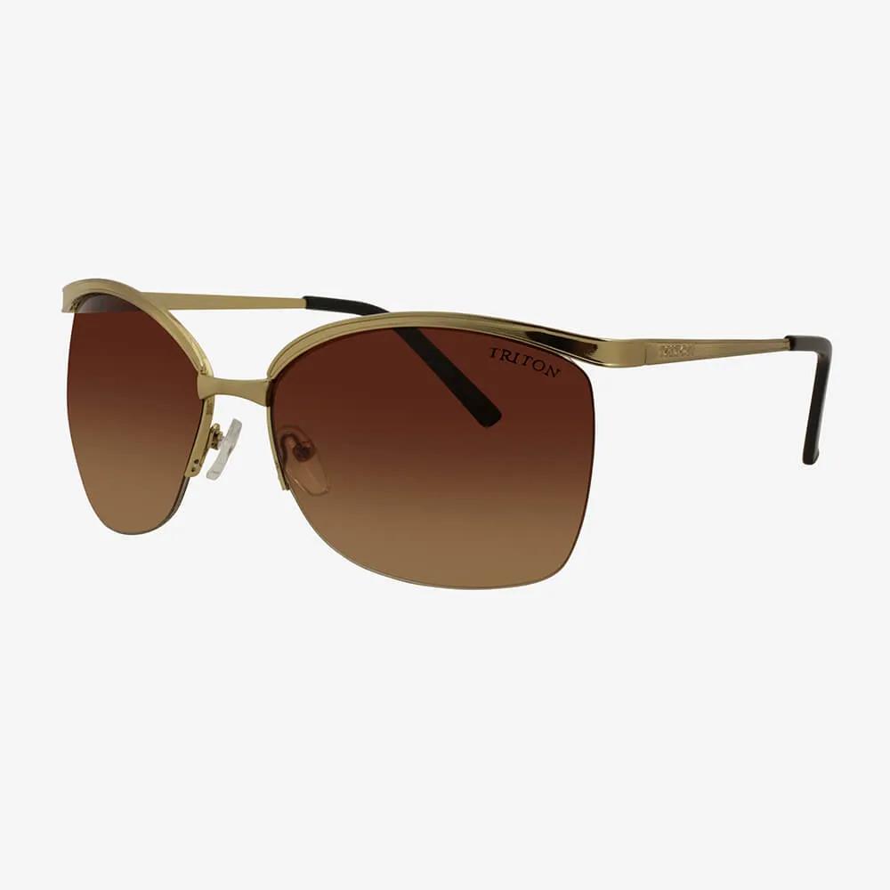Óculos de Sol Triton Eyewear Dourado