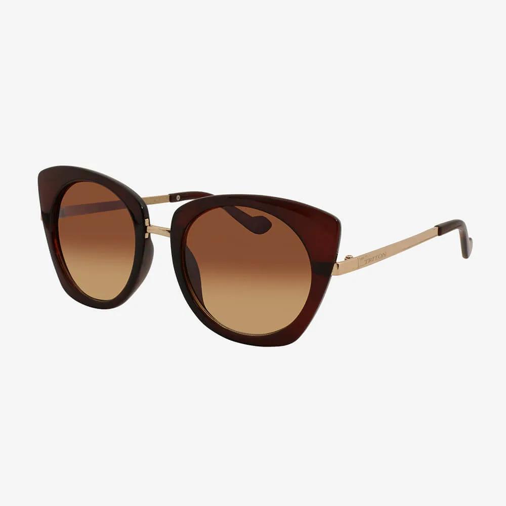 Óculos de Sol Triton Eyewear Glamour Marrom