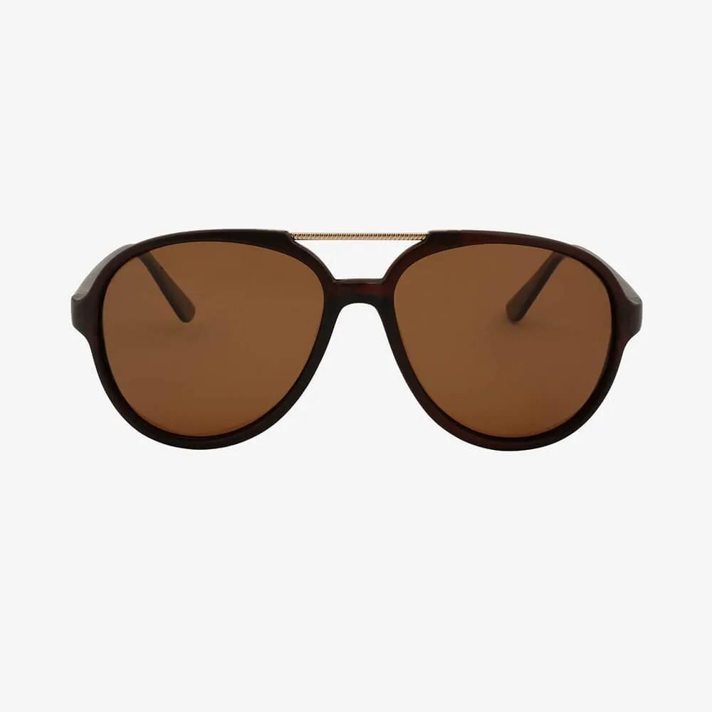 Óculos de Sol Triton Eyewear Oval Charme Negro