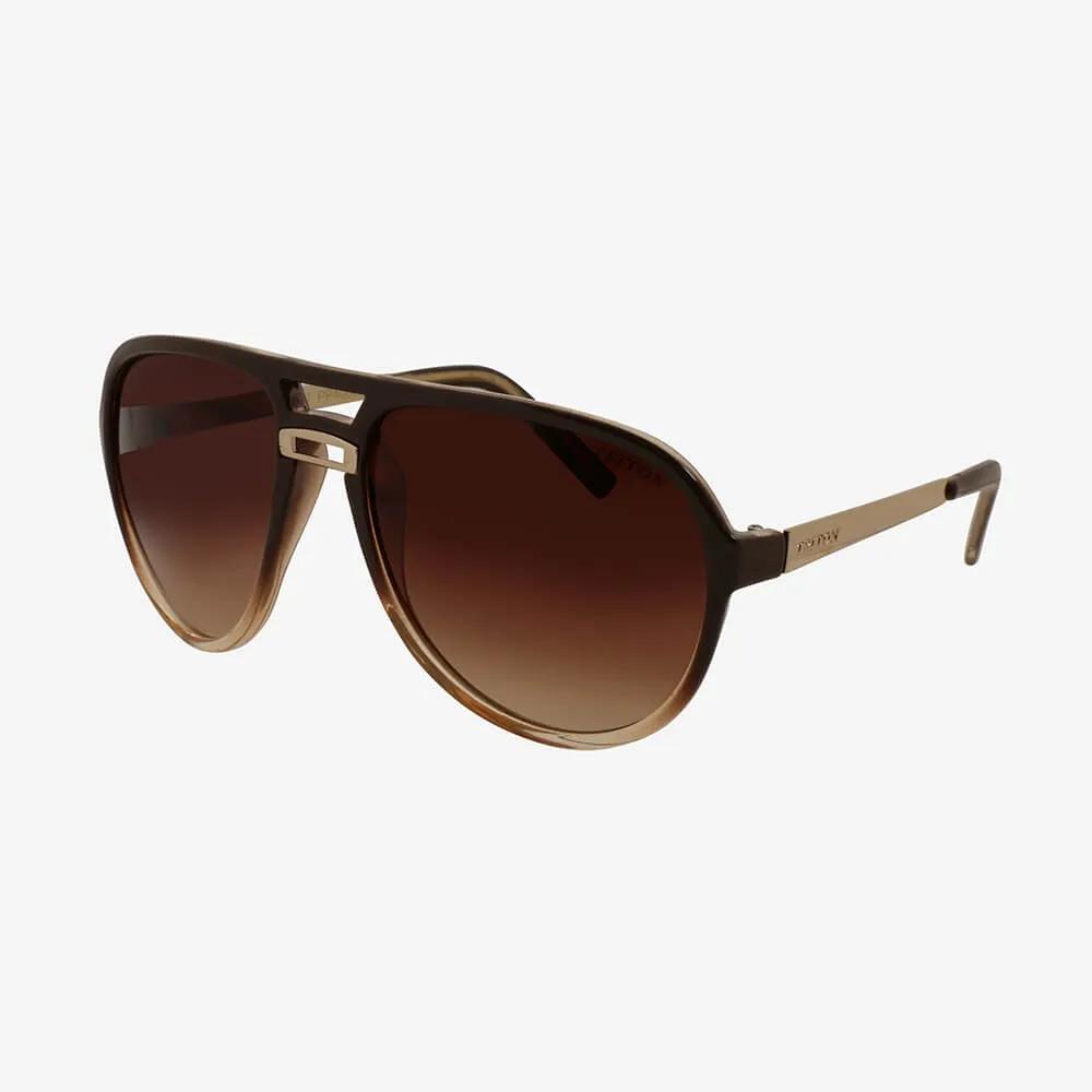 Óculos de Sol Triton Eyewear Oval Máscara Marrom