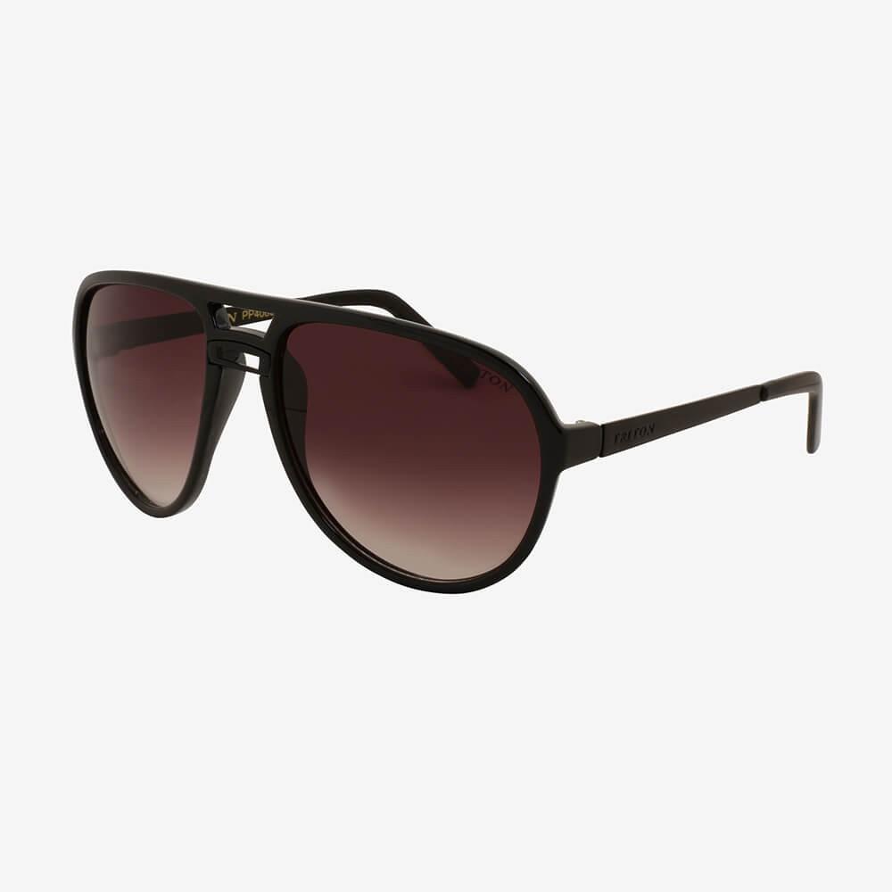 Óculos de Sol Triton Eyewear Oval Máscara Preto