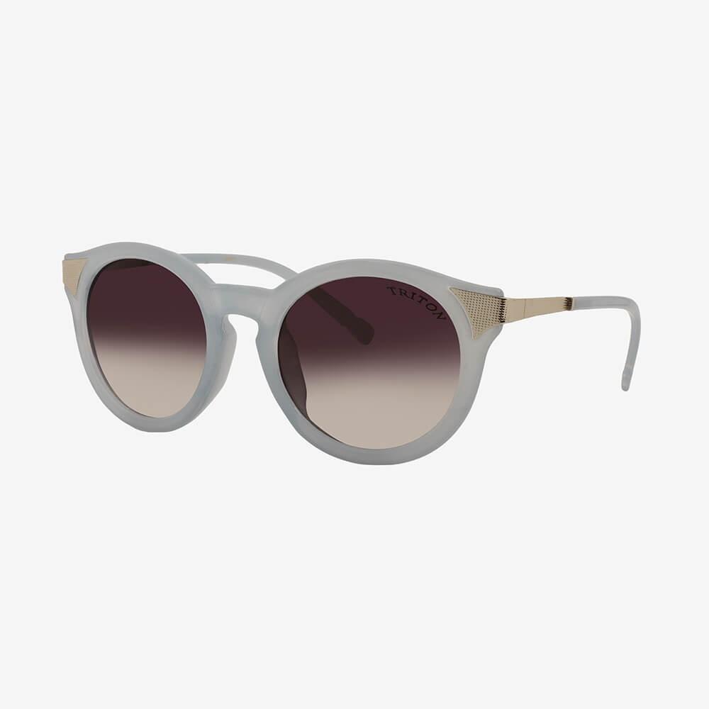 Óculos de Sol Triton Eyewear Retrô Azul Gelo