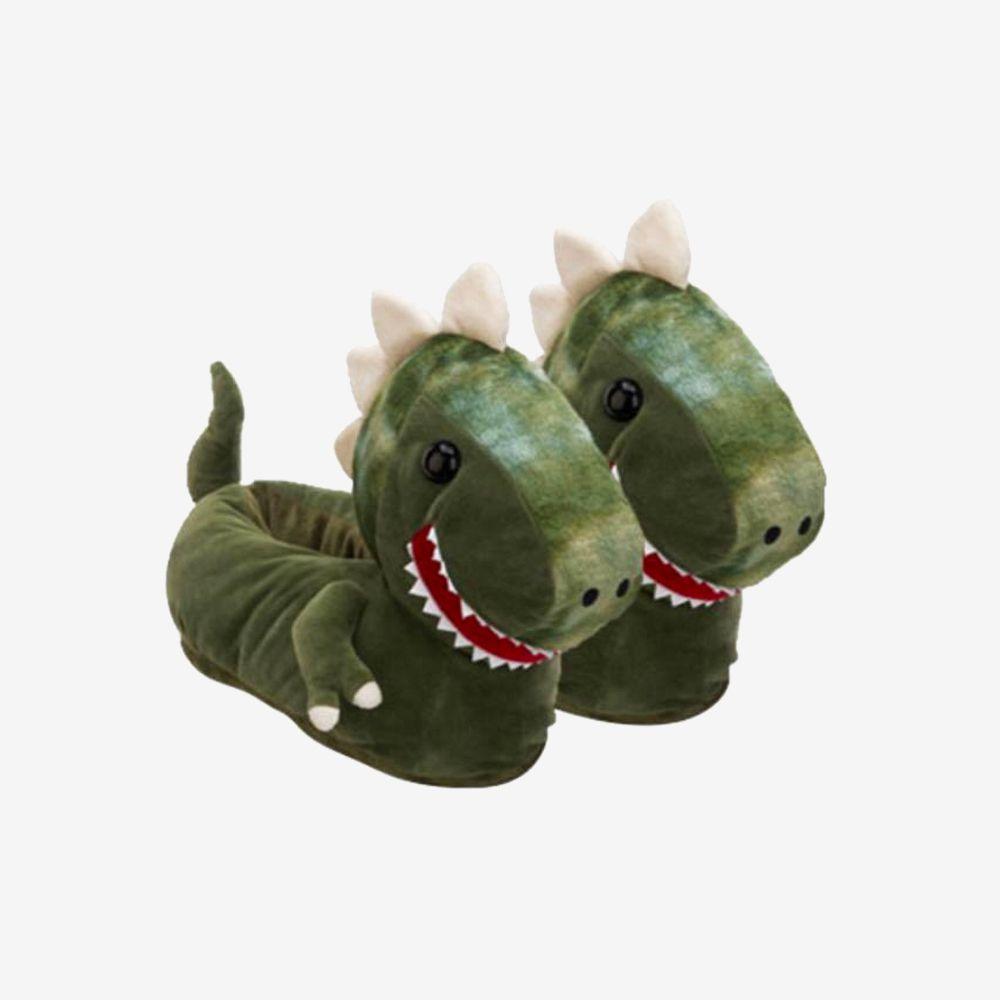 Pantufa 3D Dinossauro  - Tamanho: 40/42