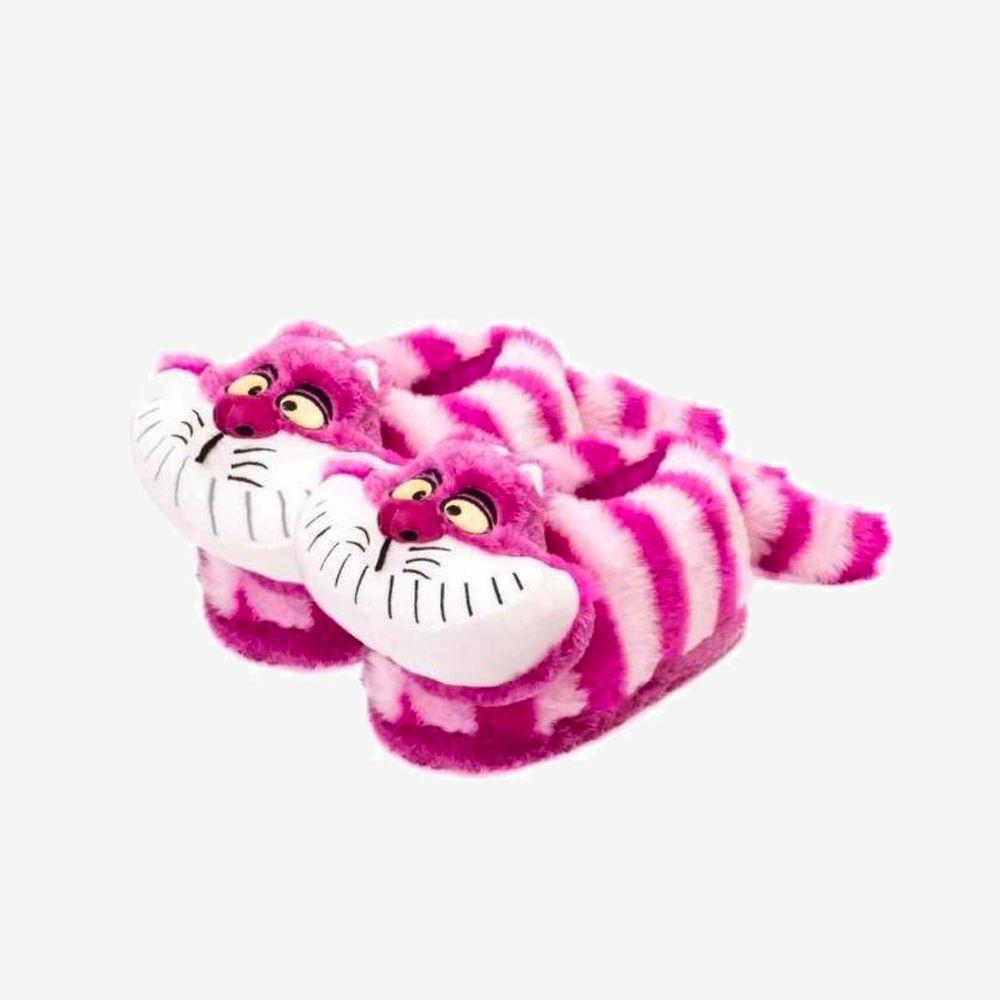 Pantufa 3D Gato Risonho - Tamanho: 34/36