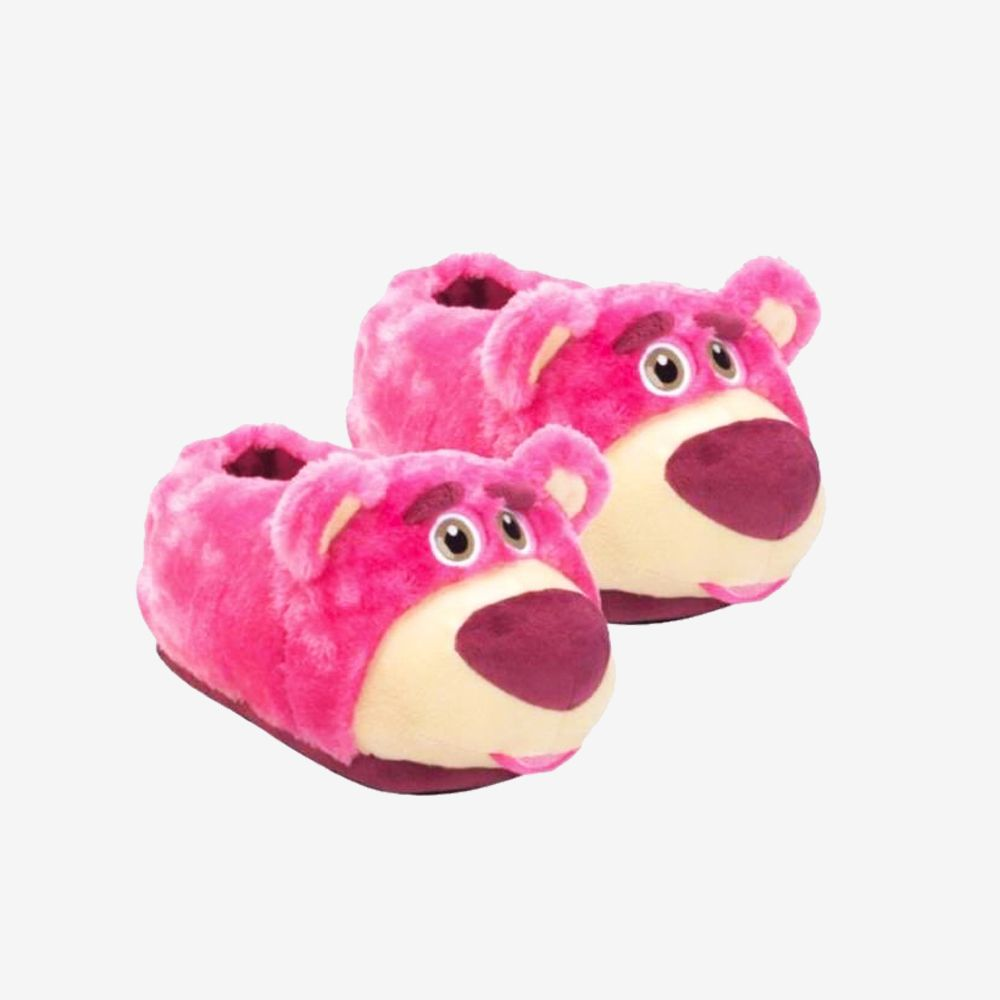 Pantufa 3D Lotso Toy Story - Tamanho: 31/33