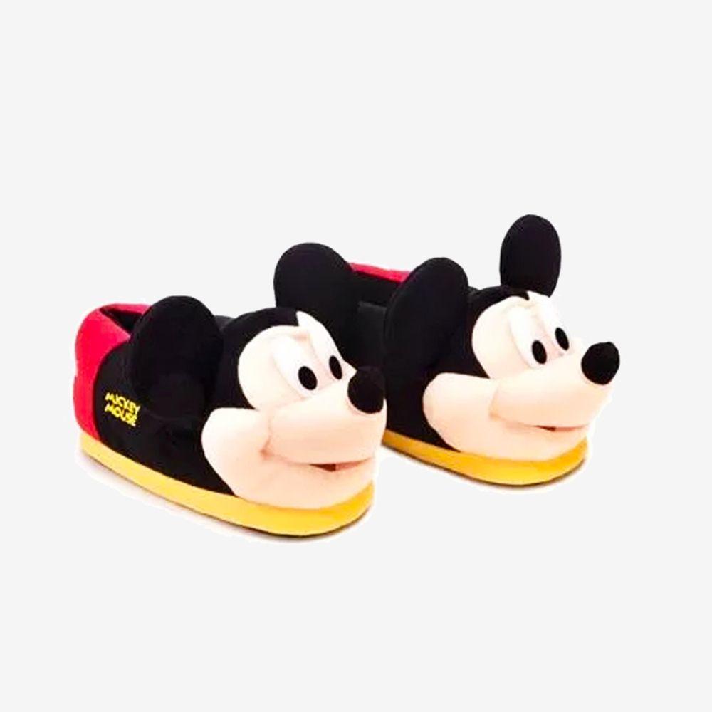 Pantufa 3D Mickey Mouse - Tamanho: 34/36