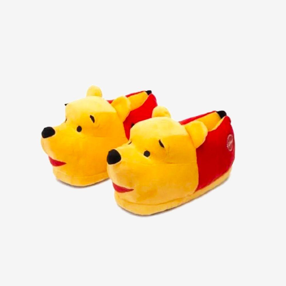 Pantufa 3D Pooh - Tamanho: 31/33