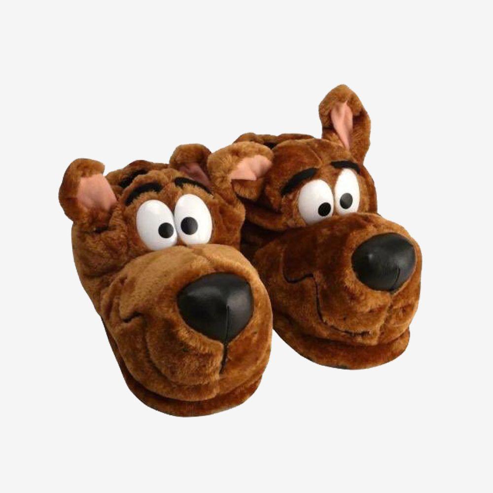Pantufa 3D Scooby-Doo - Tamanho: 28/30