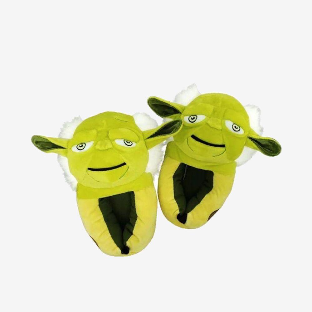 Pantufa 3D Yoda - Tamanho: 45/46