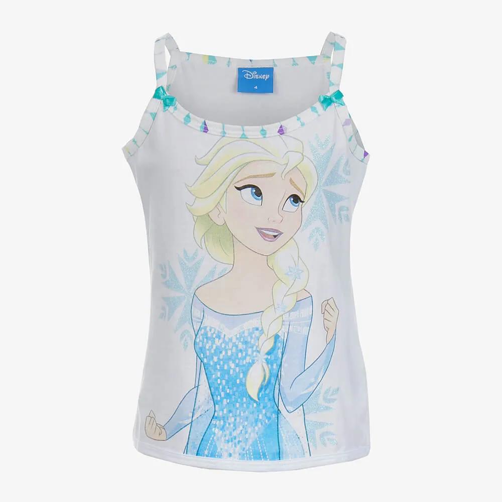 Pijama Lupo Disney Frozen Infantil Feminino - Tamanho 4