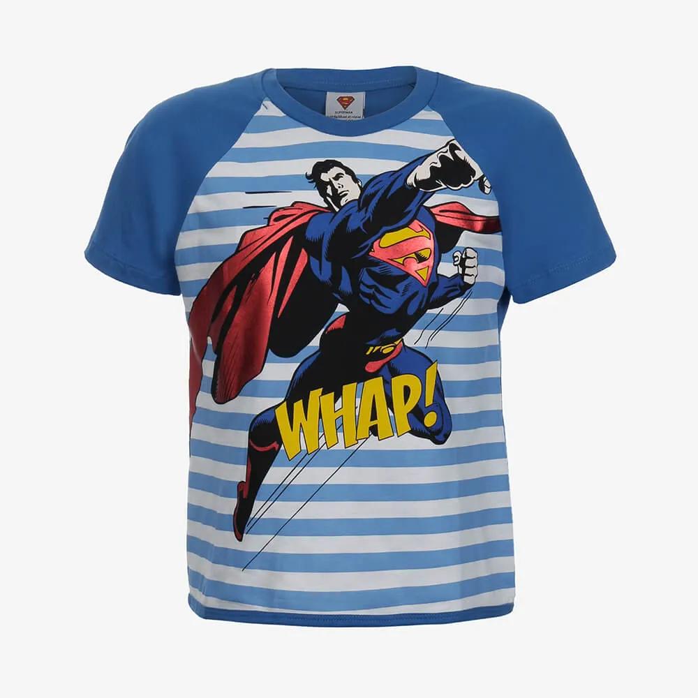 Pijama Lupo Superman Infantil Masculino - Tamanho 8