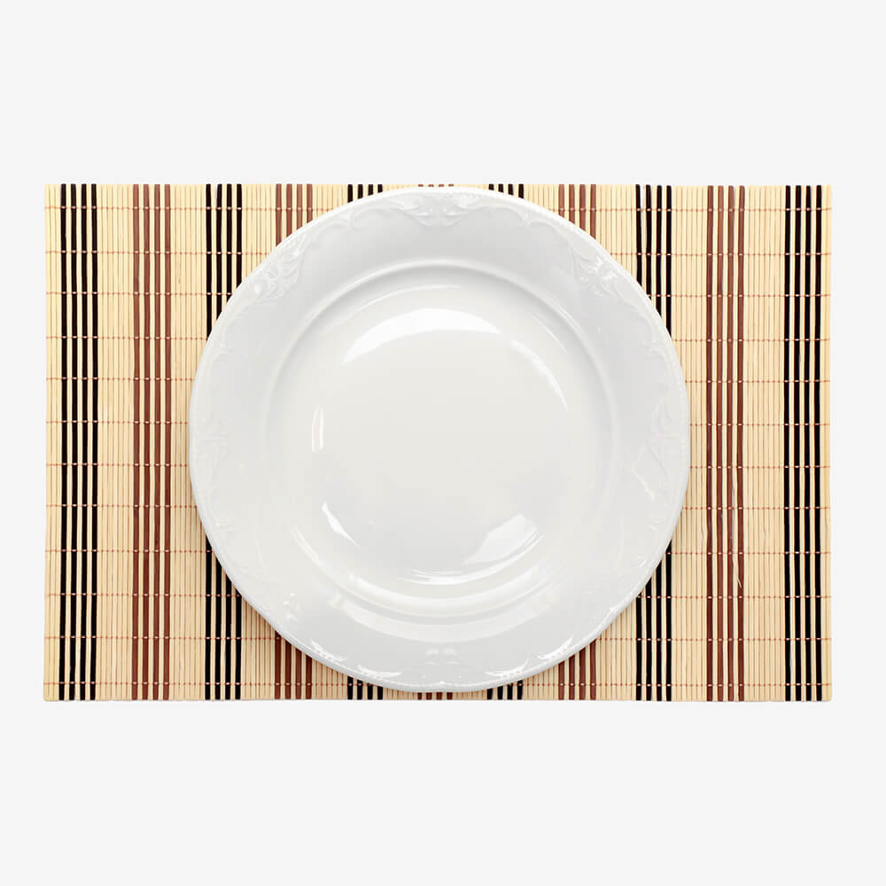 Prato Raso Branco De Porcelana 29cm - Home Collection