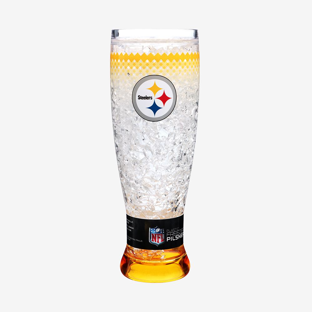 Taça Com Gel Pittsburgh Steelers NFL