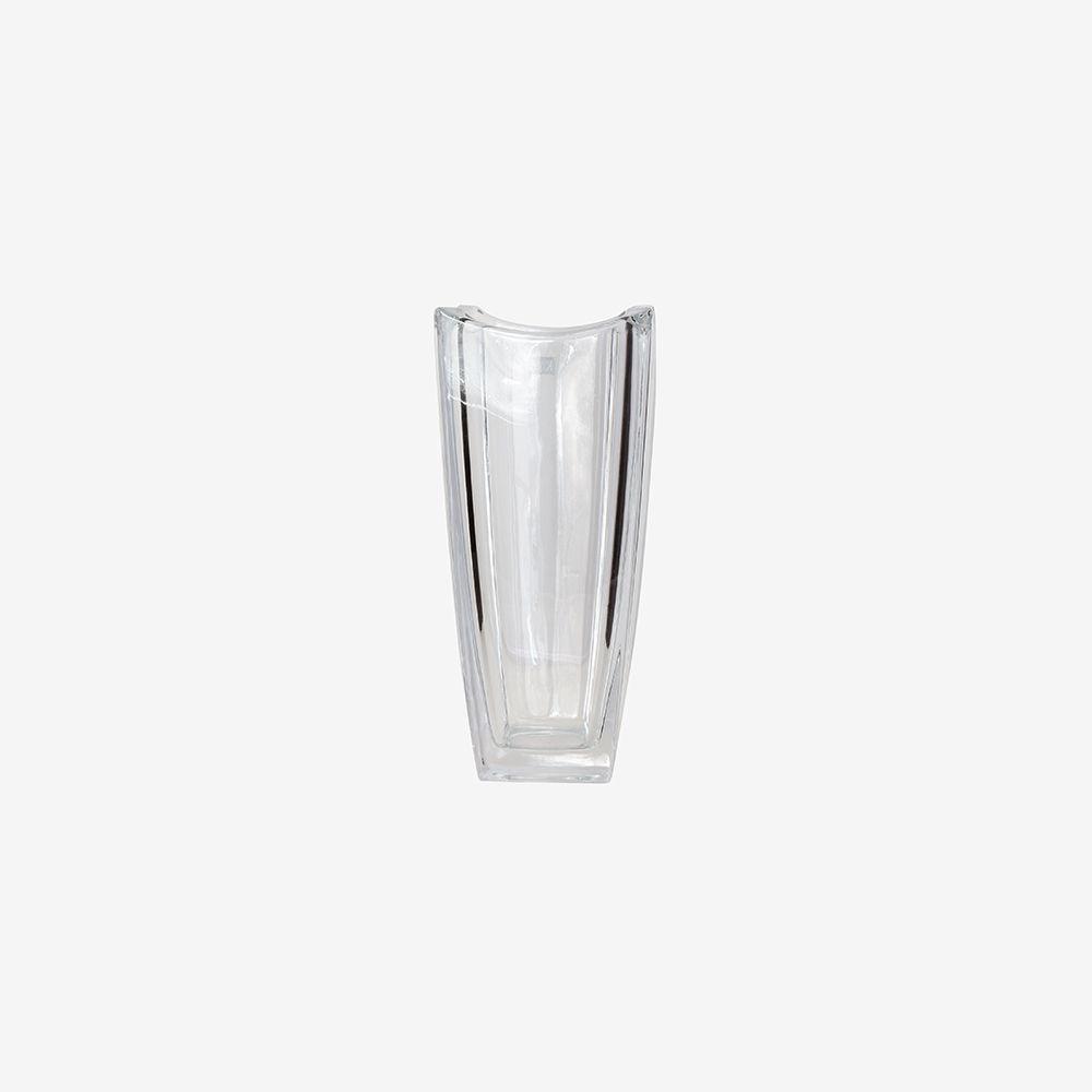 Vaso decorativo médio em vidro liso - Prestige