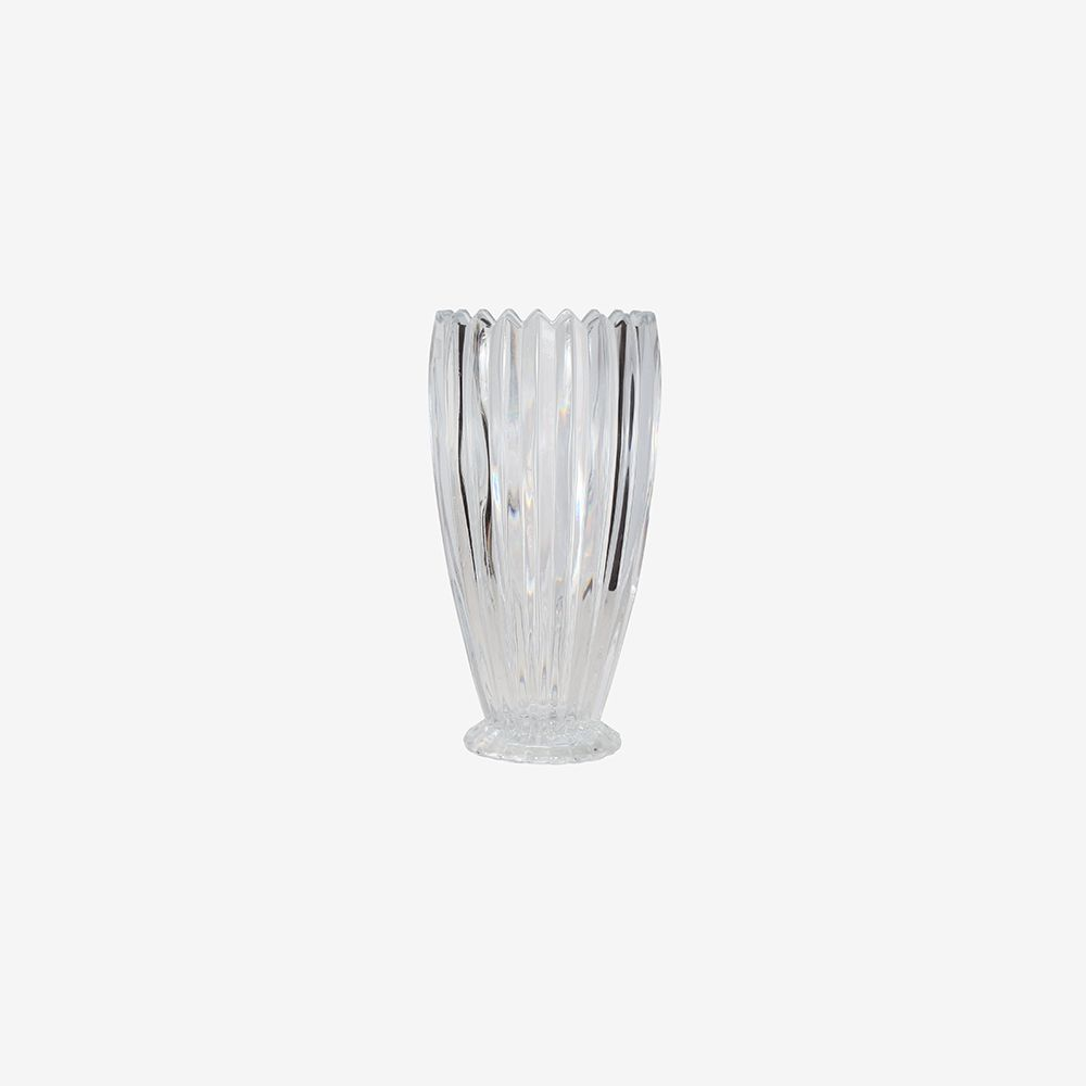 Vaso decorativo médio em vidro - Noblesse