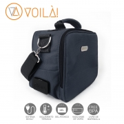 Bolsa Elétrica Voilà! Bag - Academy Chumbo