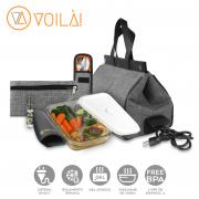 Bolsa Elétrica Voilà! Bag - Classic em Linho Importado Preto (Com TODOS os Acessórios)