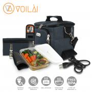 Bolsa Elétrica Voilà! Bag - Sport Chumbo(Com TODOS os Acessórios)