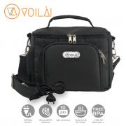 Bolsa Elétrica Voilà! Bag - Sport em Nylon Importado Preto