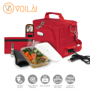 Bolsa Elétrica Voilà! Bag - Sport Vermelha (Com TODOS os Acessórios)