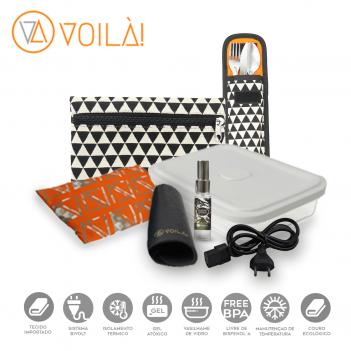 Kit Completo de Acessórios Voilà! Bag  - Cosmopolitan Queóps