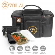 Mala Voilà! Bag - Gym 4 refeições (Com TODOS os Acessórios)