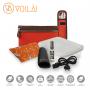 Kit Completo de Acessórios Voilà! Bag  - Linho Importado Laranja