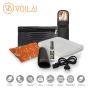 Kit Completo de Acessórios Voilà! Bag  - Classic, Gym, Mochilla em Nylon Importado Preto