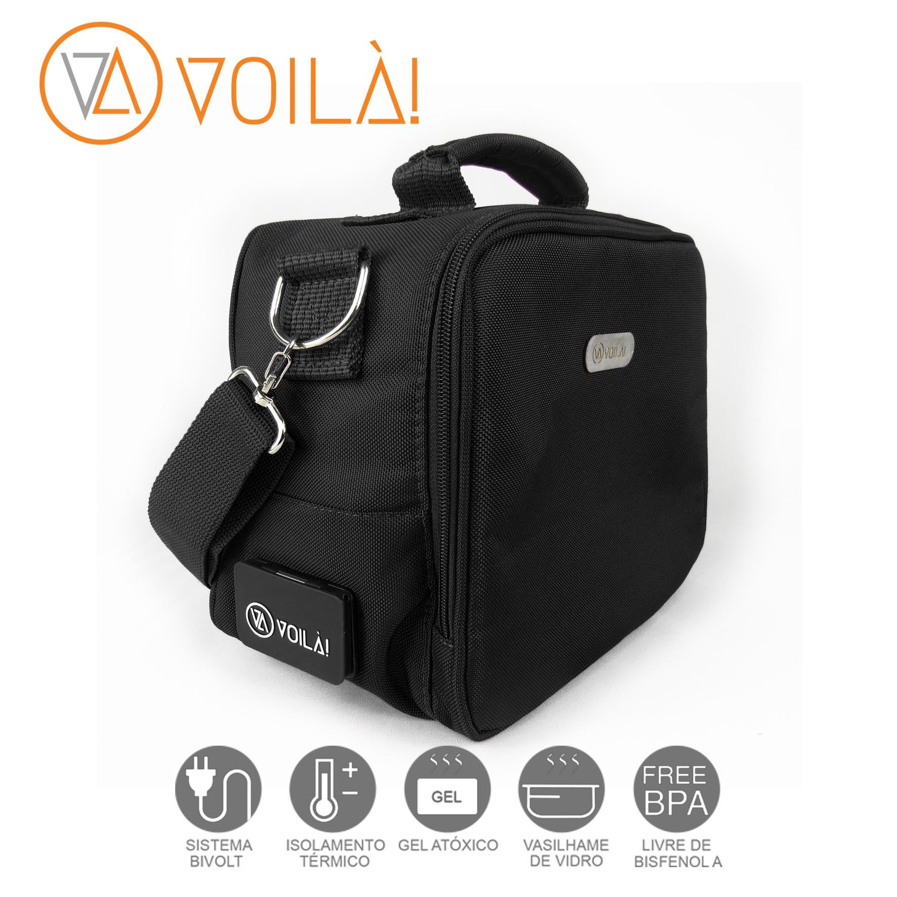 Bolsa Elétrica Voilà! Bag - Academy Preta