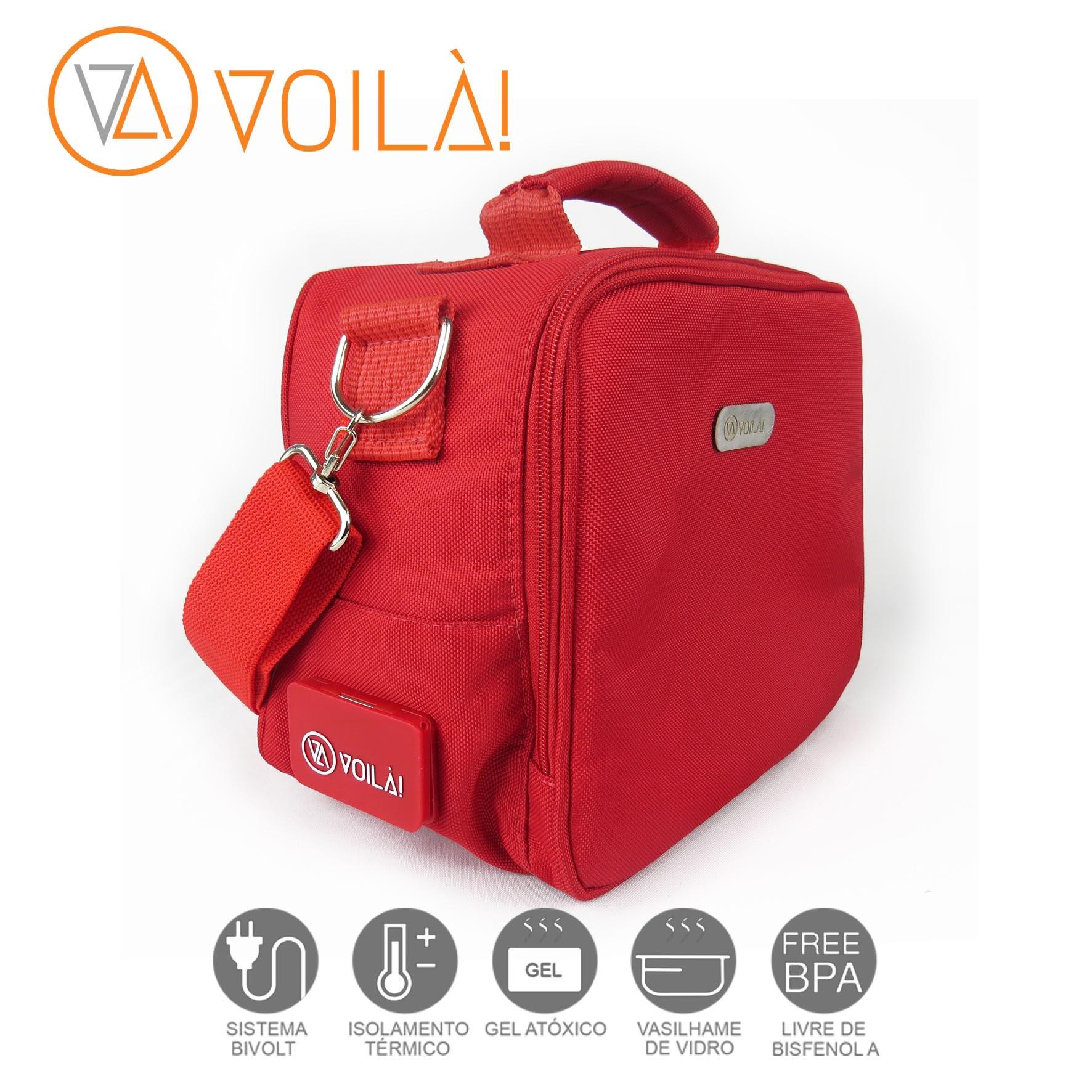 Bolsa Elétrica Voilà! Bag - Academy Vermelha