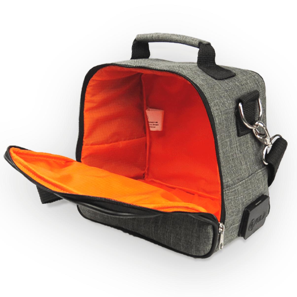 Bolsa Elétrica Voilà! Bag - Cosmopolitan em Linho Importado Preto