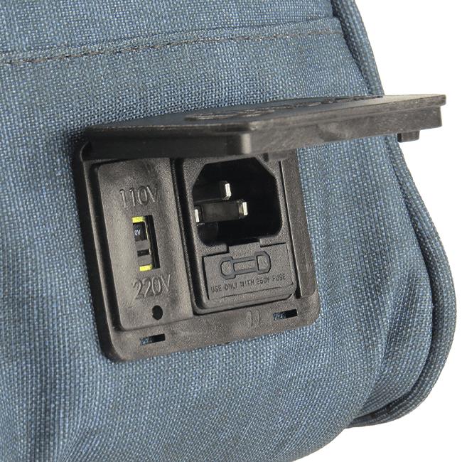 Bolsa Elétrica Voilà! Bag - Kanvas Azul (Com TODOS os Acessórios)