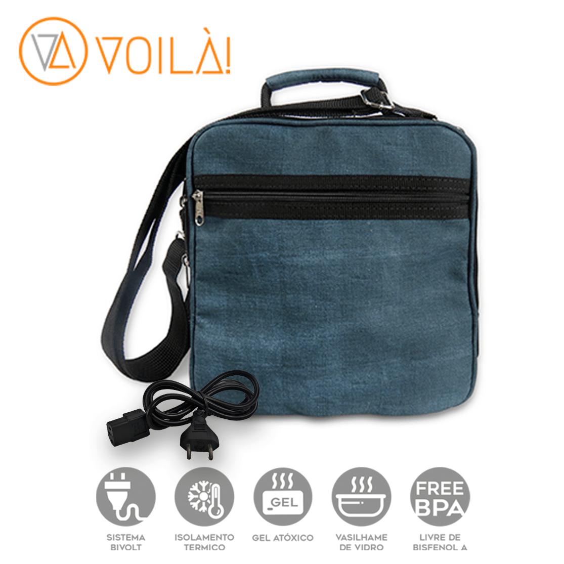 Bolsa Elétrica Voilà! Bag - Kanvas Azul