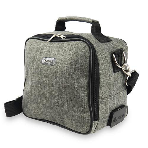 Bolsa Elétrica Voilà! Bag - Cosmopolitan em Linho Importado Preto (Com TODOS os Acessórios)