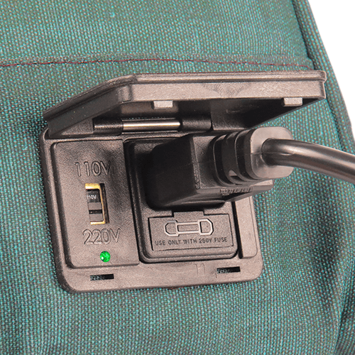 Bolsa Elétrica Voilà! Bag - Kanvas Esmeralda (Com TODOS os Acessórios)