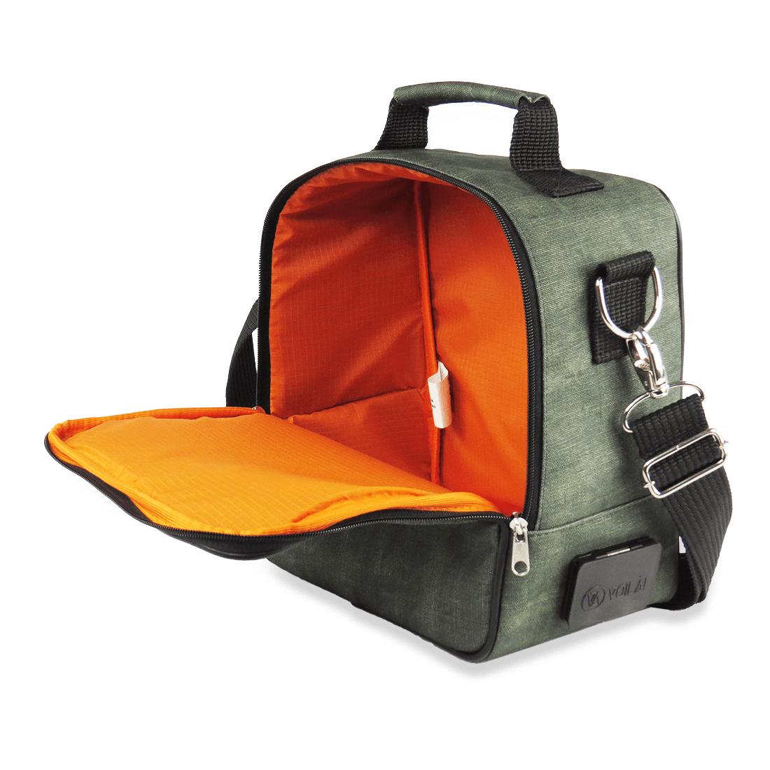 Bolsa Elétrica Voilà! Bag - Kanvas Esmeralda
