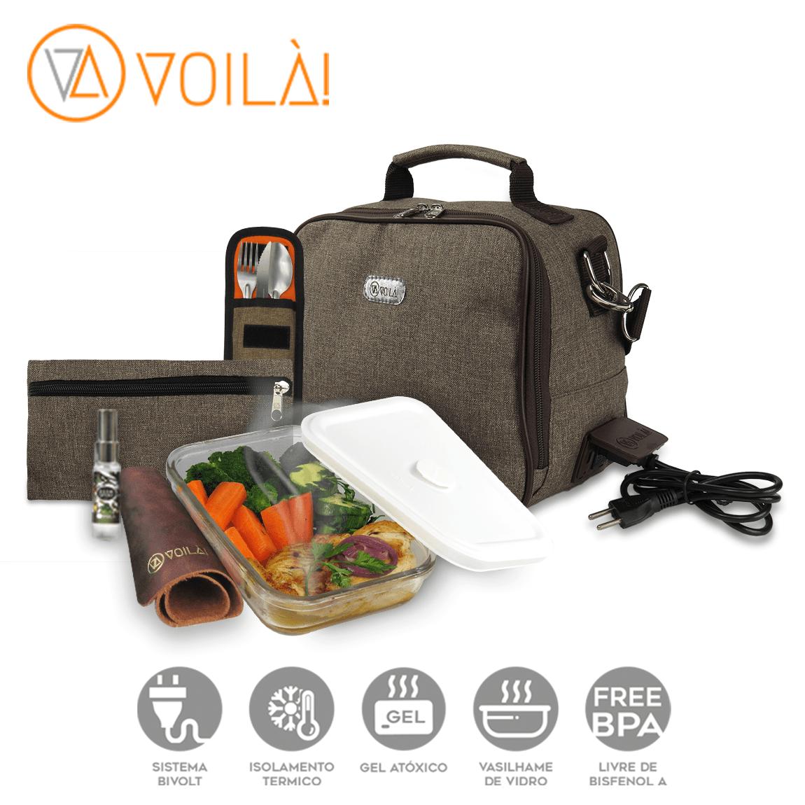 Bolsa Elétrica Voilà! Bag - Cosmopolitan Café (Com TODOS os Acessórios)
