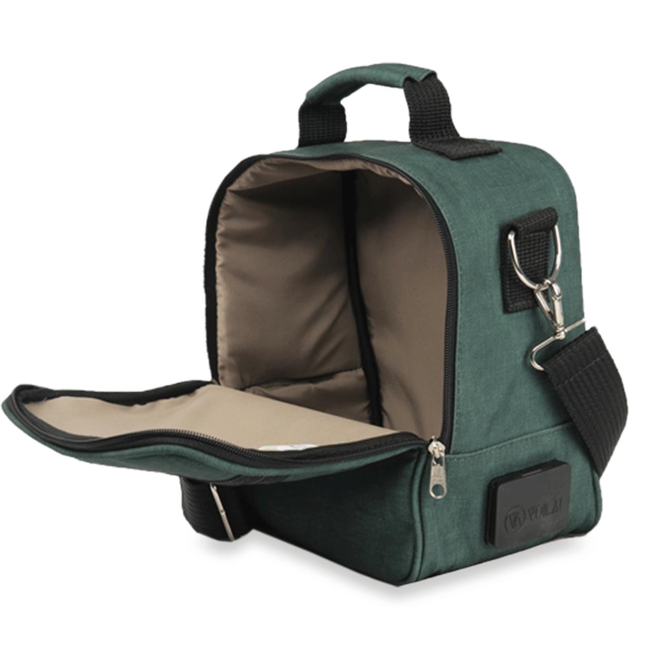 Bolsa Elétrica Voilà! Bag - Kanvas Verde (Com todos os acessórios)