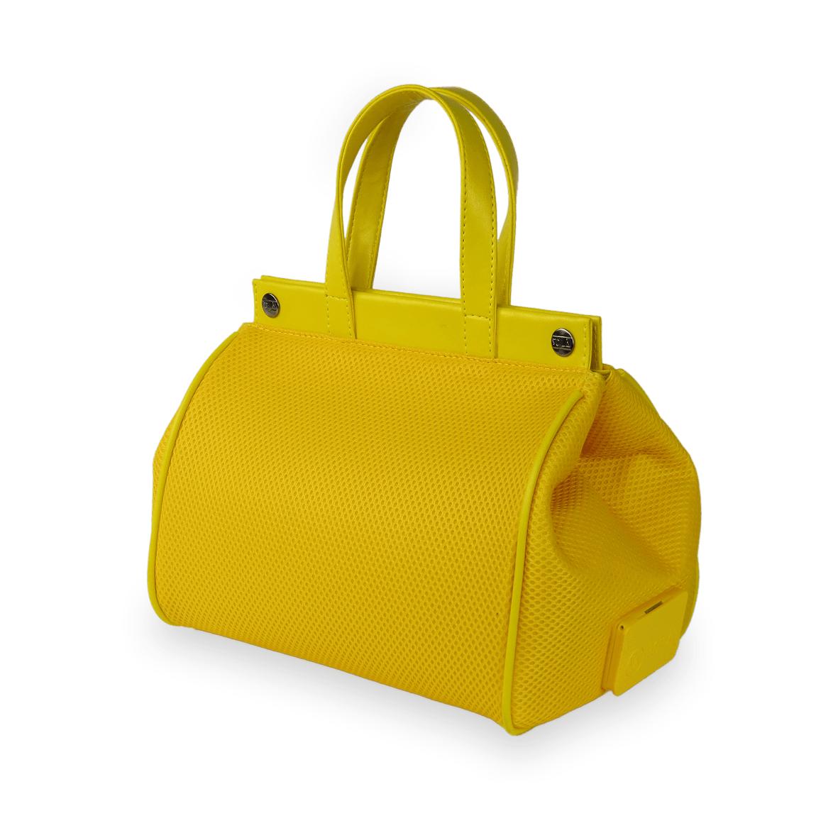 Bolsa Elétrica Voilà! Bag - Pool em Mesh Aerado Amarela