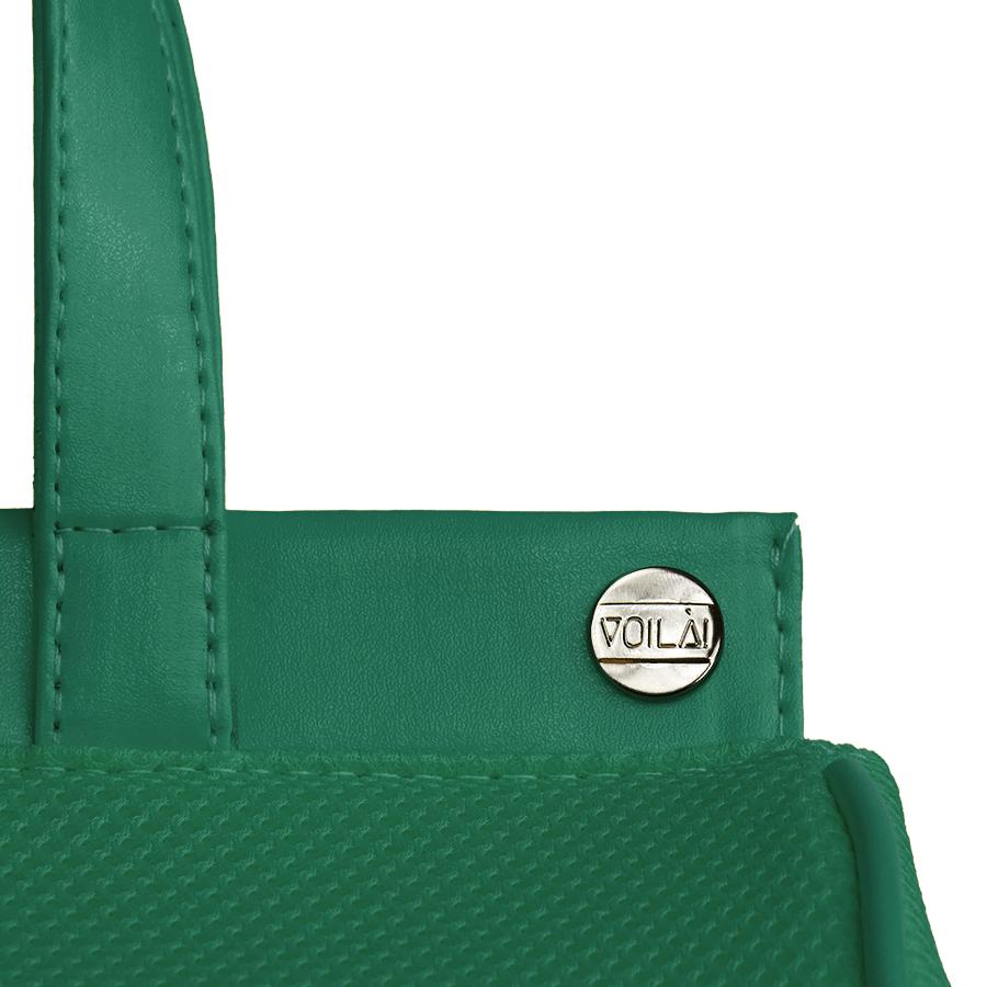 Bolsa Elétrica Voilà! Bag - Pool em Mesh Aerado Verde