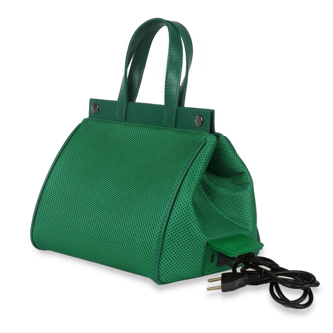 Bolsa Elétrica Voilà! Bag - Pool em Mesh Aerado Verde (Com TODOS os Acessórios)