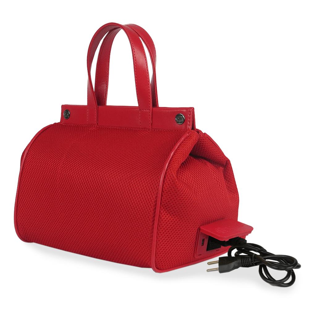Bolsa Elétrica Voilà! Bag - Pool em Mesh Aerado Vermelho