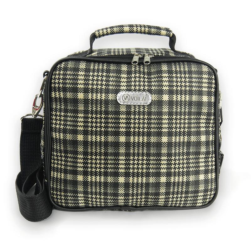 Bolsa Elétrica Voilà! Bag - Sherlock em Xadrez Preto (Com TODOS os Acessórios)