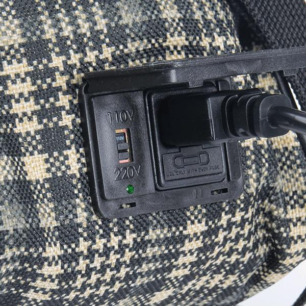 Bolsa Elétrica Voilà! Bag - Sherlock em Xadrez Preto