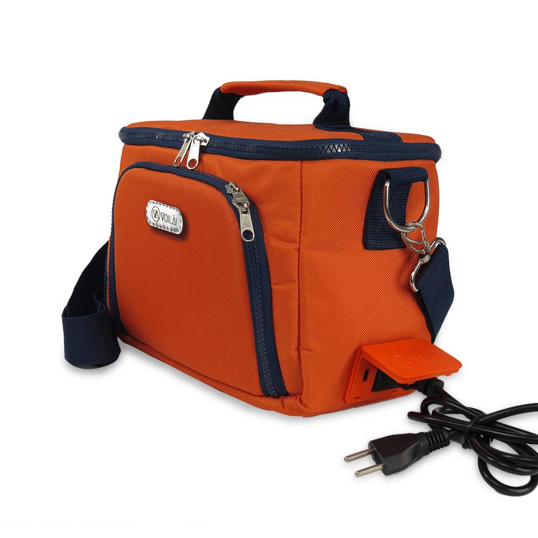 Bolsa Elétrica Voilà! Bag - Sport Laranja (Com TODOS os Acessórios)