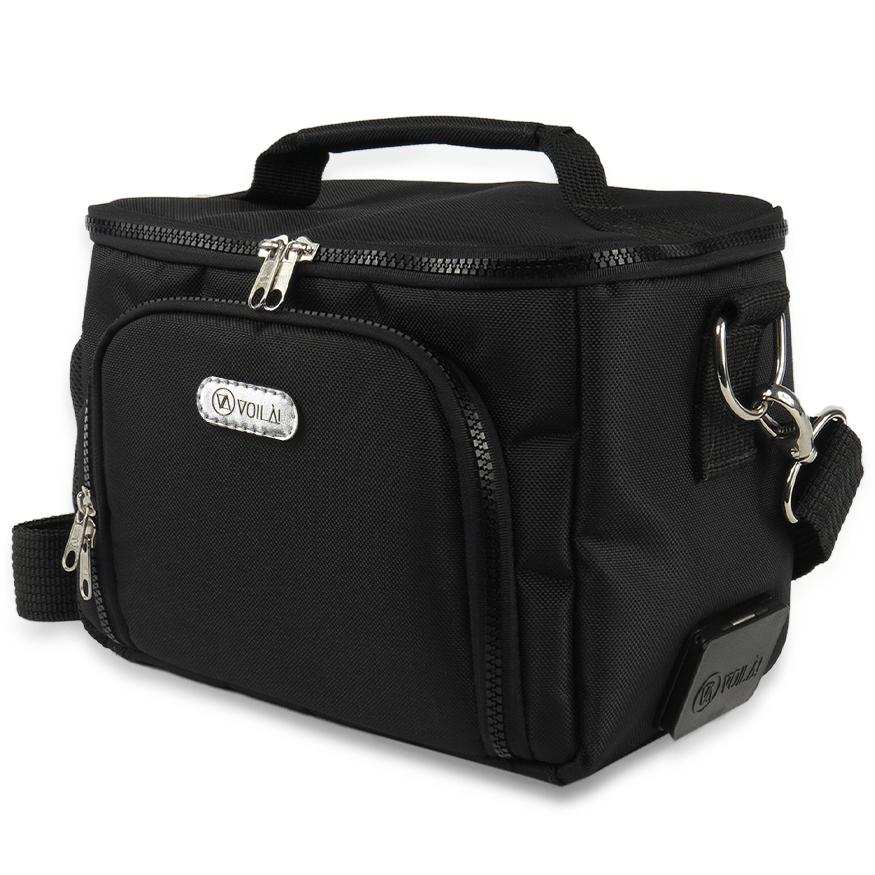 Bolsa Elétrica Voilà! Bag - Sport em Nylon Importado Preto (Com TODOS os Acessórios)